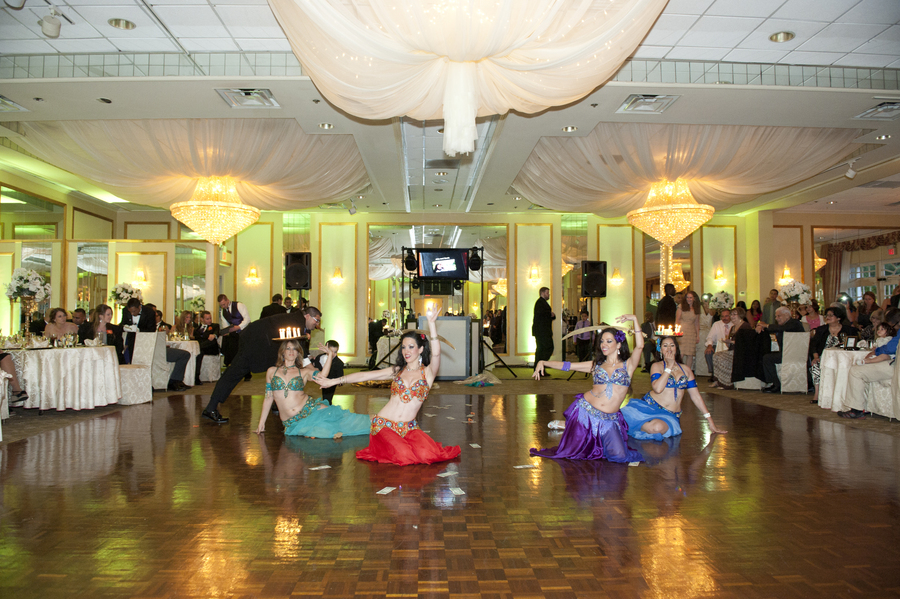 Sira NY performing with the Infinity Bellydance ensemble.