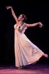 Sira NY in a belly dance Greek dress