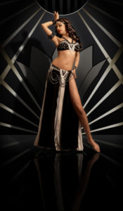 Sira in Art deco Bella costume